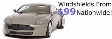 Windshields from $99 Nationwide
